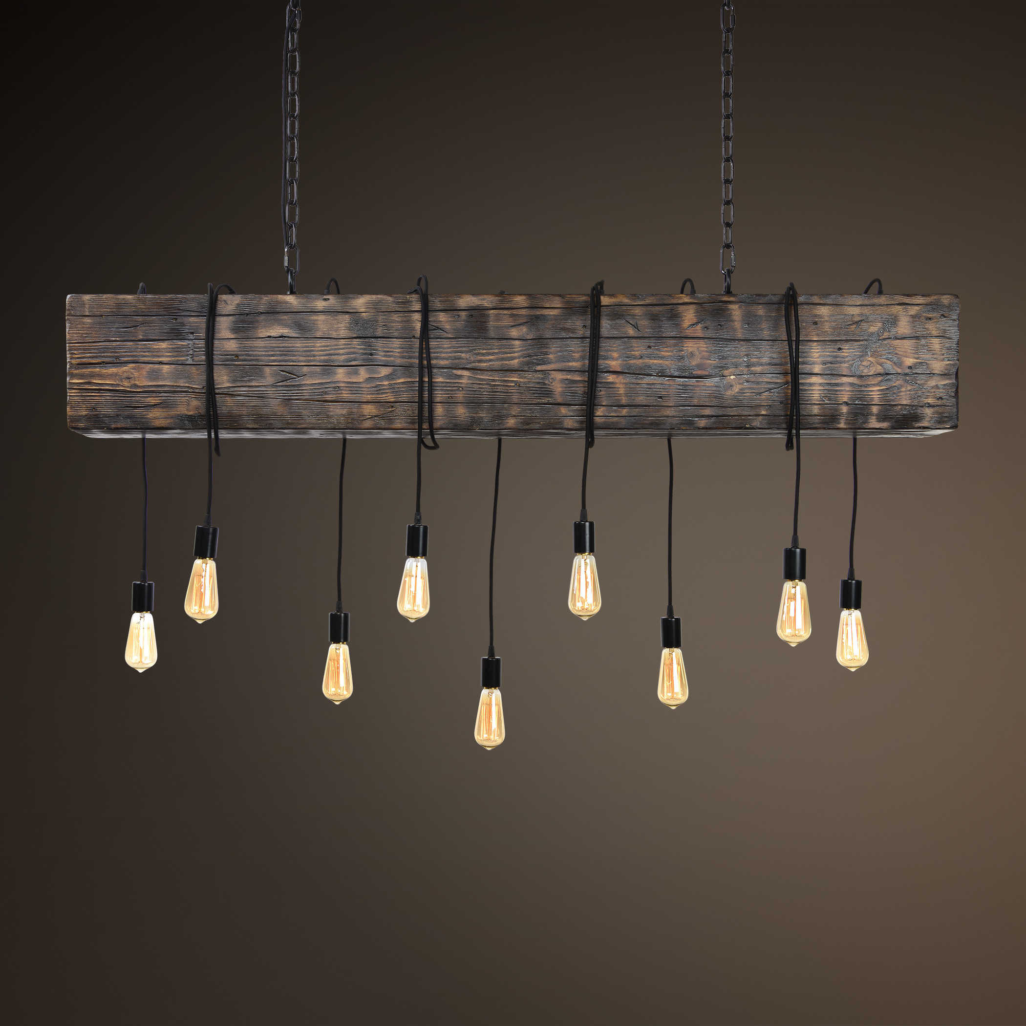 Loved his piece you may then just love this oversized rustic chandelier with the same decorative accents hang it over a large dining table or as the