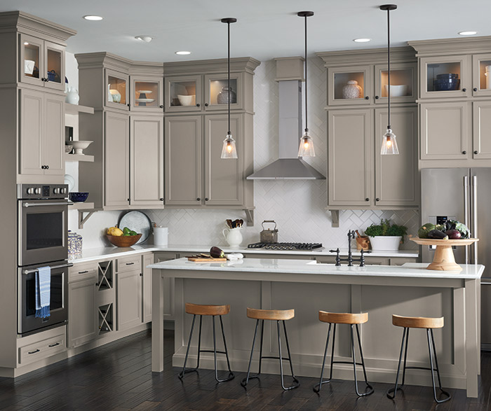 Color Your World - Colored Cabinet Trends - Ciao Interiors
